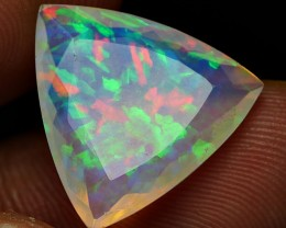 5.00 CRT BEAUTIFUL PERFECT FACETED WELO CHAFF PATTERN WELO OPAL