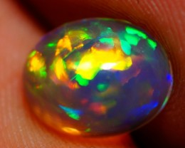9X7MM BROADFLASH PATTERN !!FLASHY MULTI COLOR WELO ETHIOPIAN OPAL-A144