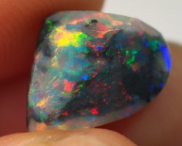 3.05CT BLACK OPALS ROUGH SHAPED RUB LIGHTNING RIDGE  TO87