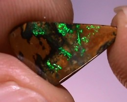 2.40 ct Beautiful Gem Green Natural Queensland Boulder Opal
