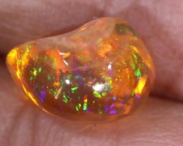 2.5 CTS MEXICAN FIRE OPAL CARVED STONE FOB-1171