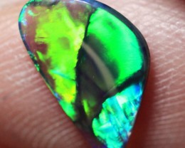 Lightning Ridge Solid Black Crystal Opal Stone 0.57ct