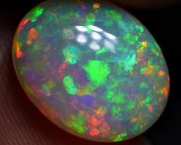 3.50 CRT BRILLIANT MICRO PUZZLE PIN FIRE PATTERN PLAY COLOR WELO OPAL