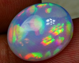 3.25 CRT BRILLIANT AURORA HOLOGRAM HONEYCOMB PATTERN PLAY COLOR WELO OPAL