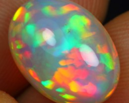 4.05cts TOP QUALITY FLORAL PATCHWORK Natural Untreated Ethiopian Welo Opal