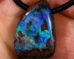 20ct 20x13mm Queensland Boulder Opal Pendant [BOP-043]