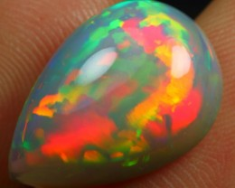 7.50cts JADE BASED TOP 5/5 MULTI FIRE Untreated Eth Welo Opal