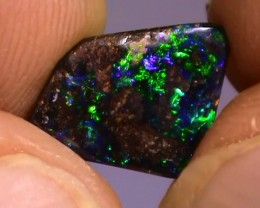 2.55 ct Boulder Opal Natural Gem Blue Green