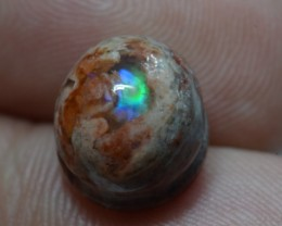 6.5ct Mexican Matrix Opal Slotted Wirewrap ready