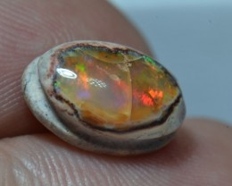 4.5ct Mexican Matrix Opal Slotted Wirewrap ready