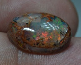 10ct Natural Mexican Fiery Cantera Multicoloured Fire Opal