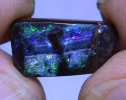3.65 ct Beautiful Multi Color Natural Queensland Boulder Opal