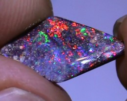2.50 ct Beautiful Gem Multi Color Natural Queensland Boulder Opal