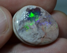 15.5ct Mexican Fiery Opal Slotted Wirewrap ready