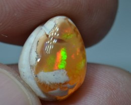 5.5ct Mexican Matrix Opal Slotted Wirewrap ready