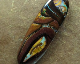 "27cts.""BOULDER MATRIX OPAL~FROM OUR MINES"""