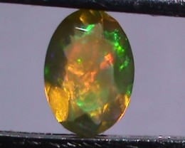 0.65 $1 NR Beautiful Multi Color Welo Facet Opal