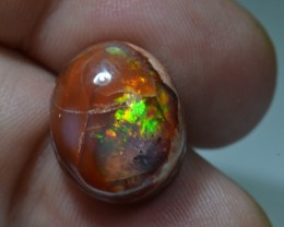 14ct Mexican Specimen Fire Opal Slotted Wirewrap ready