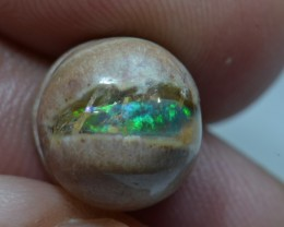 8ct Mexican Matrix Opal Slotted Wirewrap ready