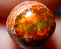 $1 NR Auction 3.7ct Mexican Matrix Cantera Multicoloured Fire Opal