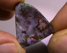 14.80 ct Multi Color Natural Queensland Boulder Opal