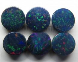 Australian Doublet Opal 7mm Round