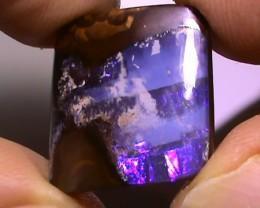 20.90 ct Blue Natural Queensland Boulder Opal
