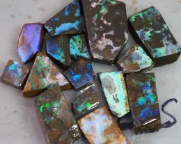 359CT QUEENSLAND BOULDER OPAL ROUGH TO168
