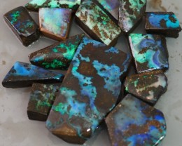 300CT QUEENSLAND BOULDER OPAL ROUGH TO169