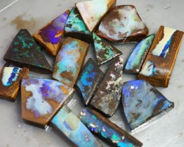 460CT QUEENSLAND BOULDER OPAL ROUGH TO170