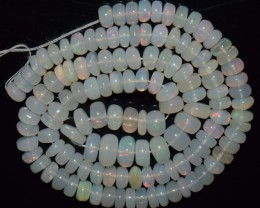 68.20 Ct Natural Ethiopian Welo Opal Beads Play Of Color