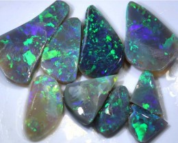 80.85 CTS DARK OPAL ROUGH PARCEL 9 PCS  DT-GC