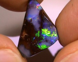 8.95 ct Gem Multi Color Natural Queensland Boulder Opal