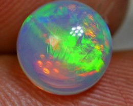 1.45crt BRILLIANT CUT BROAD STREEP WELLO OPAL