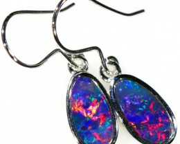 OPAL DOUBLET EARRINGS BB114