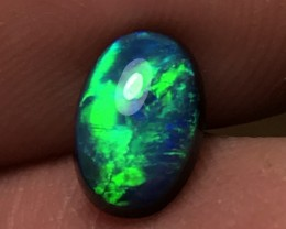 1.72ct Lightning Ridge Gem Black Opal LR371