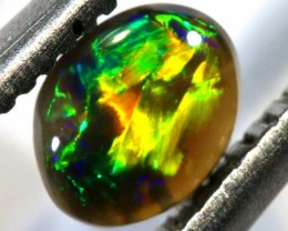 N-3 - 0.3CTS BLACK OPAL POLISHED STONE TBO-7599