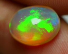 2.50 CRT CRYSTAL CLEAR BRILLIANT CLOUDY FULL COLOR WELO OPAL