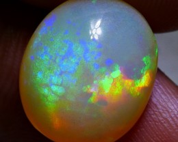 5.50 CRT BEAUTY MILKY HOLOGRAM HONEYCOMB PATTERN PLAY COLOR WELO OPAL