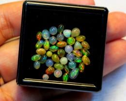 NR Auction ~ 5.58cts Mix Box Welo Opal Parcel Lot
