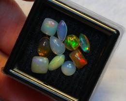 NR Auction ~ 3.34ct Mix Shape 5mm Welo Opal Parcel Lot