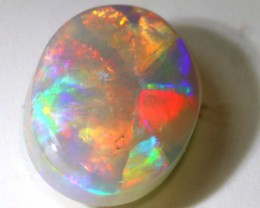 N7 - 2.5CTS QUALITY SEMI BLACK SOLID OPAL LIGHTNINGRIDGE INV-877