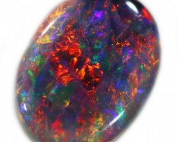 1.25 CTS TOP GEM BLACK OPAL SB 1008