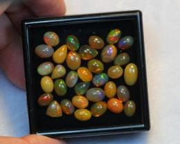 NR Auction ~ 19.43ct Mix 6x5mm 7x5mm Welo Opal Parcel Lot