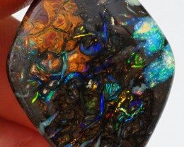 33CT VIEW BRIGHT GEM KOROIT BOULDER OPAL SS01723