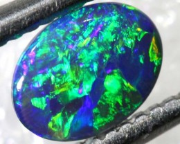 N3 - 0.30CTS BLACK OPAL POLISHED CUT STONE TBO-7548