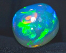 7ct Blue Natural Ethiopian Welo Supreme Opal