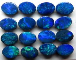 7x5mm 16 stone Australian Doublet Opal