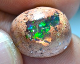10.5ct Top colored Mexican Matrix Opal in Matrix