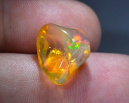 8.5ct Mexican Phantom Contraluz Fire Opal